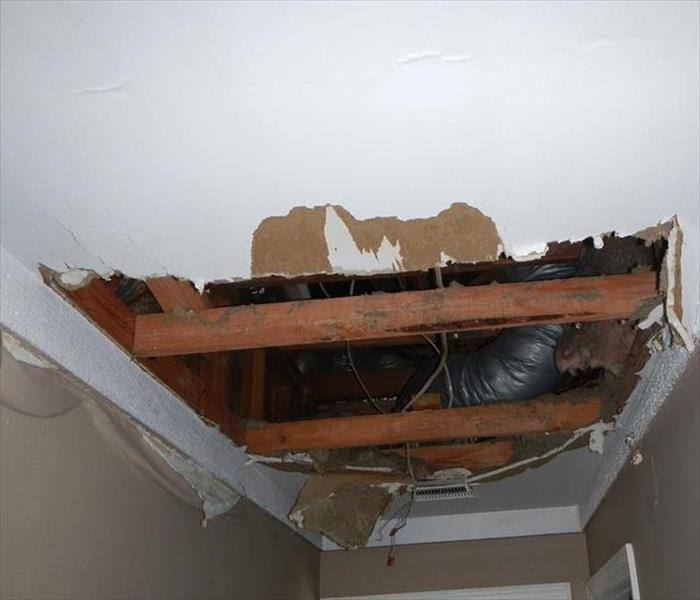 Water Damage Faster to your Greenville Water Damage